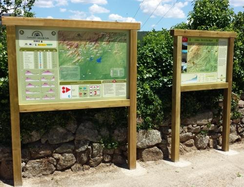 Señalización Centro BTT «Sierra de Gata»