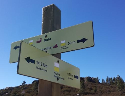 Señalizacion «Ruta de las Fuentes» PR-CC 189